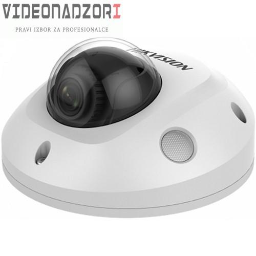 Dome IP Kamera Hikvision DS-2CD2563G0-ISW (6MP, 2,8mm, 0.01 lx, IK10, IR do 30m, AUDIO, ALARM, micSD) od 2.243,75kn
