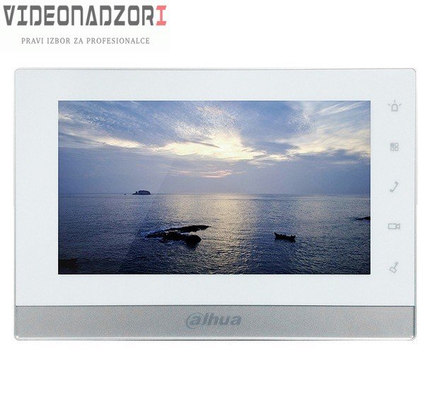 IP unutrašnji interfonski panel Dahua DH-VTH1550CH sa ugrađenim color TFT-LCD monitorom dijagonale 7'' osetljiv na dodir od  za samo 2.123,75kn