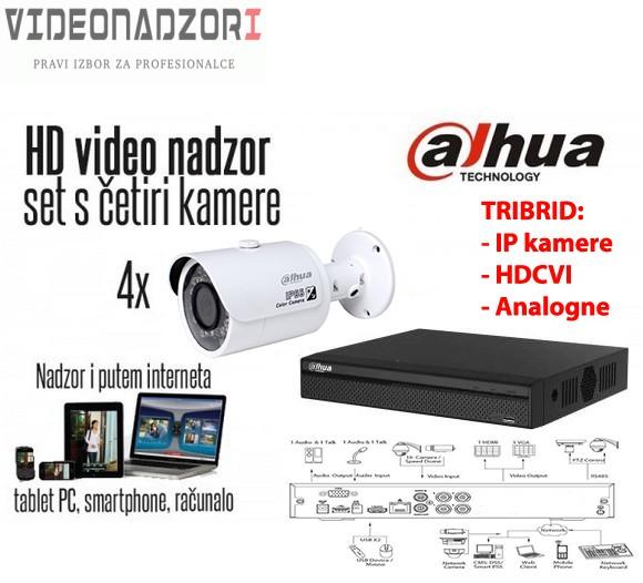 Komplet 4 HD kamere 720p Bullet - Dahua prodavac VideoNadzori Hrvatska  za samo 2.912,50kn