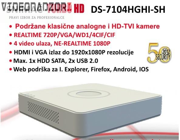 TurboHD komplet 4 HD kamere po izboru od  za 2.587,50kn