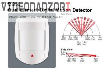 Paradox zični senzor DigiGard 55 domet 12m, kut pokrivanja 110* brend HikVision Hrvatska [ za 211,25kn