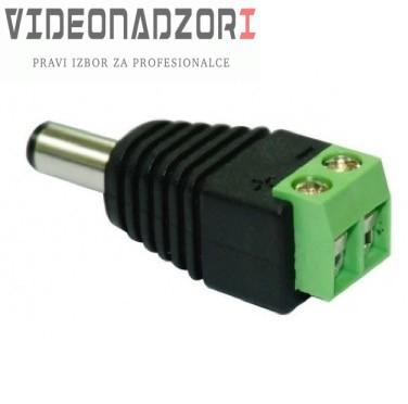 DC PowerLine muški konektor CON18A prodavac VideoNadzori Hrvatska  za samo 6,24kn