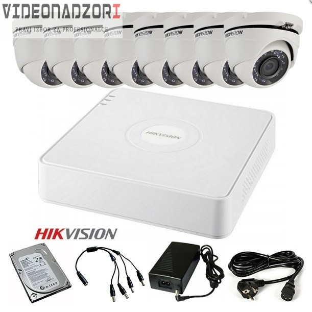 TURBOHD Komplet video nadzor 8 HD kamere (Domet IR 20m, 720p, 2.8mm) od  za 4.825,00kn