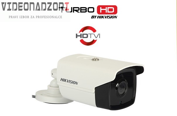TURBO HD Kamera Hikvision DS-2CE16C0T-IT3 (720p, 40m IR, 1.0MP 3.6mm) prodavac VideoNadzori Hrvatska  za 623,75kn