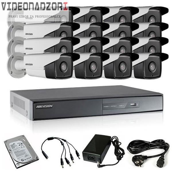 TURBOHD Komplet video nadzor 16 FULL HD kamere (Bullet 40m, 1080p) prodavac VideoNadzori Hrvatska  za samo 19.103,75kn