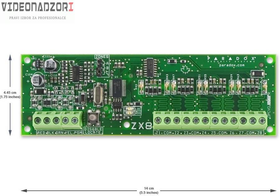 Paradox RTX3 433Mhz modul bezicnog prosirenja. od  za 1.098,75kn