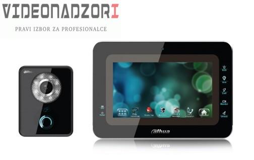 Dahua IP portafon komplet ekran 7'', pozivni panel sa kamerom i čitačem kartica prodavac VideoNadzori Hrvatska  za 3.748,75kn
