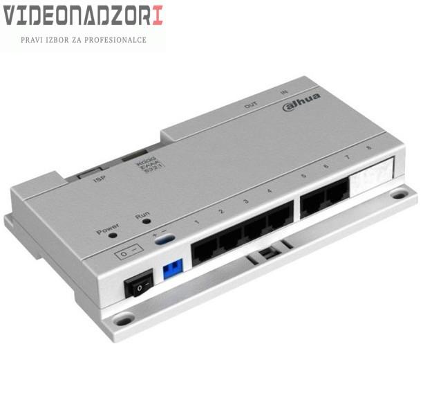Specijalni Dahua PoE switch za unutarnje jedinice sa 6 portova prodavac VideoNadzori Hrvatska  za 373,75kn