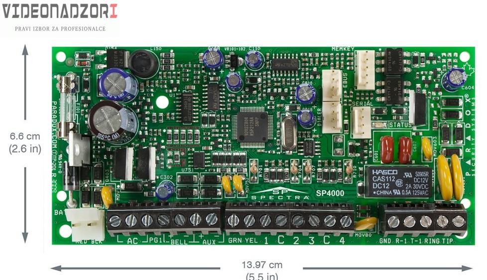 Paradox SP4000/PCB prodavac VideoNadzori Hrvatska  za samo 312,50kn