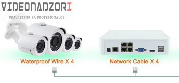 CroCam POE IP video nadzor (WDR, 720p, 2Mpx, 20m IC, 25fp/s, ONVIF 2.4) prodavac VideoNadzori Hrvatska  za 6.123,75kn