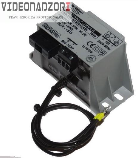 AC Izmjenični ispravljač s osiguračem 16,5V - 3.75A/45VA prodavac VideoNadzori Hrvatska  za 156,25kn