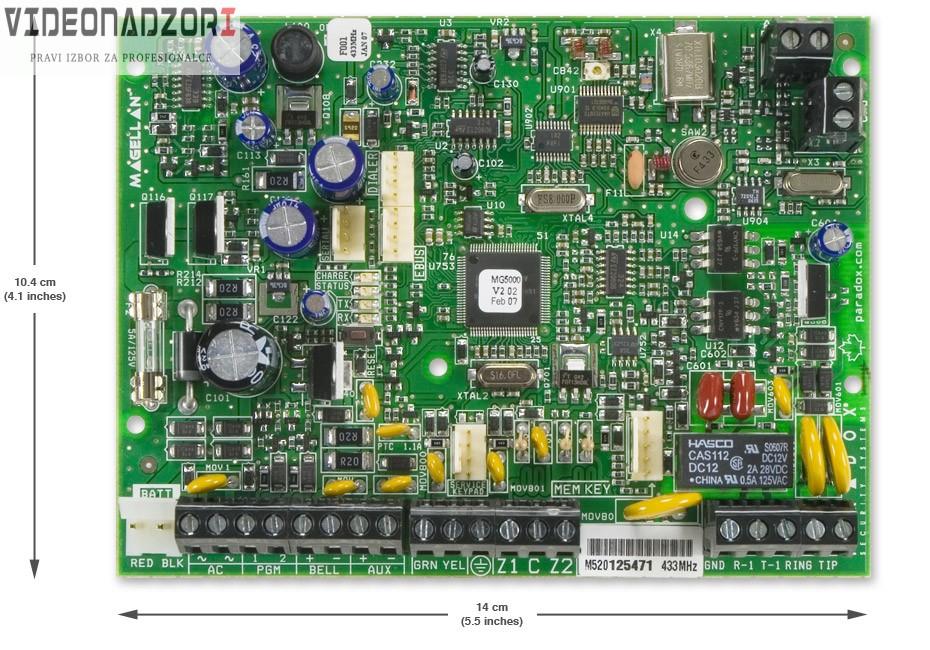 Paradox MG-5000/PCB 433 od  za 1.168,75kn