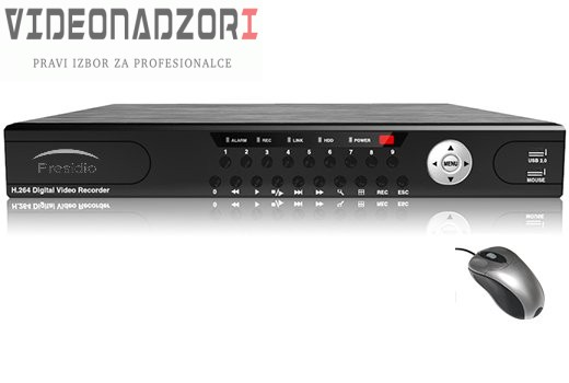 Presidio HD NVR16 prodavac VideoNadzori Hrvatska  za 2.475,00kn