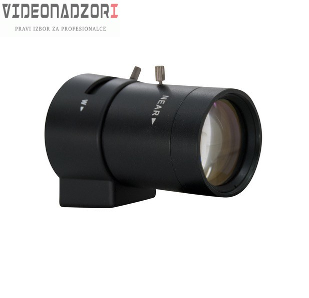 Objektiv IR, vari-focal,manual iris, 2,8-12mm od  za samo 293,75 kn