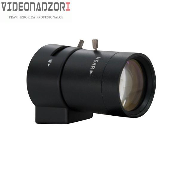 Objektiv IR, vari-focal, DC iris, 2,8-12mm, F1.4,CS,1/3 brend HikVision Hrvatska [ za 343,75kn