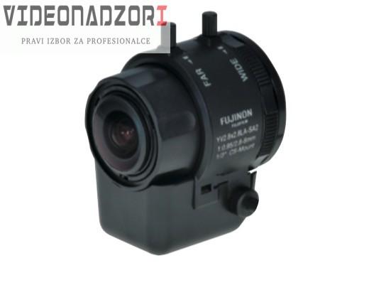 Video-Sec CS mount Fujinon varifokalni asferični objektiv, 1/3'', DC auto iris, 2,8~8mm, dan/noć prodavac VideoNadzori Hrvatska  za samo 448,75kn