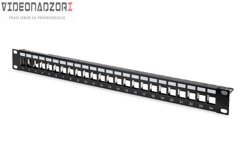 Patch panel 24p modularni prodavac VideoNadzori Hrvatska  za 218,75kn
