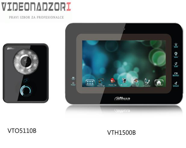 Dahua analogni Videointerfonski komplet  DH-VTKA-VTO5110B-VTH1500B za samo 2.198,75kn