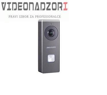 Bežično WIFI video zvono s kamerom upravljivo putem telefona HikVision prodavac VideoNadzori Hrvatska  za 1.936,25kn