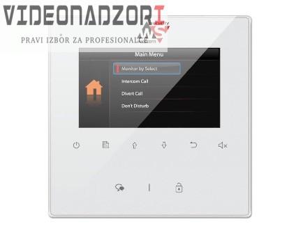 MONITOR - 4.3'' TFT hands-free monitor za V-TEK DT sustave. Tanko kućište bijele boje, tipke osjetljive na dodir prodavac VideoNadzori Hrvatska  za 998,75kn