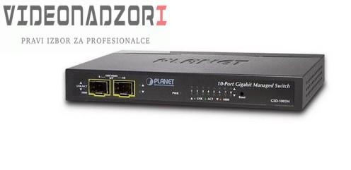 8-Port Gigabit + 2P Gig X SFP Managed Desktop Switch prodavac VideoNadzori Hrvatska  za samo 747,50kn