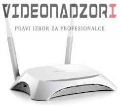 Modem 3G/4G + Wireless N Router, 300Mb/s, 1x WAN, 4x LAN, 2x RSMA prodavac VideoNadzori Hrvatska  za 486,25kn