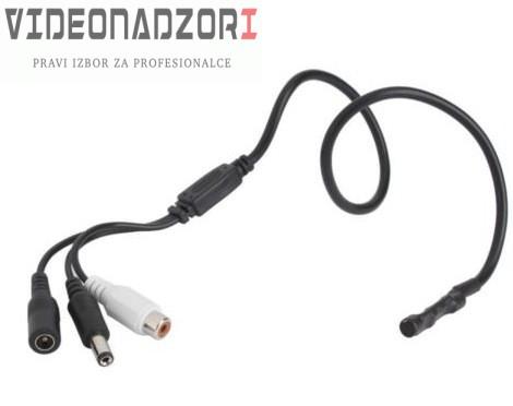 Mikrofon sa predpojačalom za upotrebu uz CCTV kamere - Audio nadzor od 143,75kn
