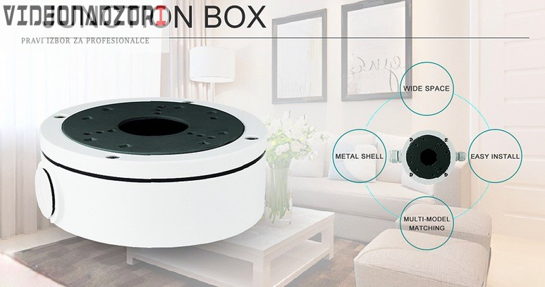 Spojna kutija + nosač kamere Junction Box B320 brend HikVision Hrvatska [ za 198,75kn