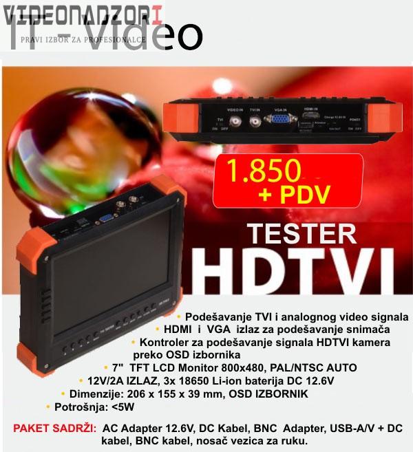 Tester prodavac VideoNadzori Hrvatska  za samo 2.312,50kn
