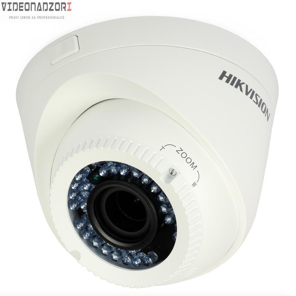 Analogna varifokalna kamera HikVision dome DS-2CE55A2P-VFIR3 (2.8-12mm, F1.2, 700TVL) prodavac VideoNadzori Hrvatska  za samo 748,75kn