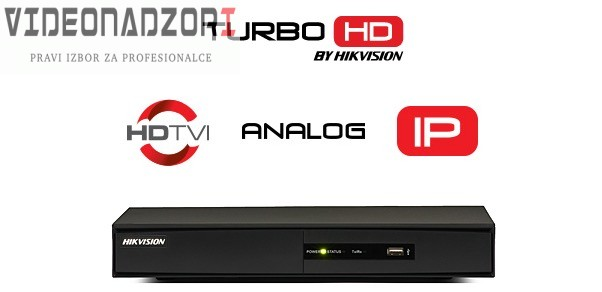 TURBO HD DVR Hikvision DS-7208 Serija (8 kanala, 1080p@25fps, H.265, HDMI, VGA) prodavac VideoNadzori Hrvatska  za 1.598,75kn