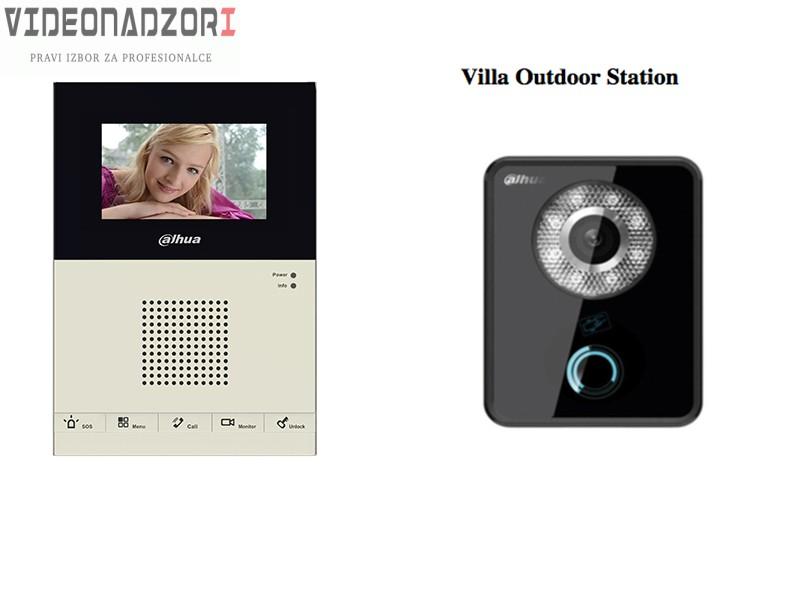 Analogni videointerfonski komplet DH-VTKA-VTO5110B-VTH1200CS prodavac VideoNadzori Hrvatska  za samo 1.748,75kn