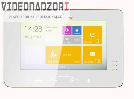 IP portafon Hikvision unutarnja jedinica - Na dodir + 8 alarmnih ulaza prodavac VideoNadzori Hrvatska  za 2.373,75kn