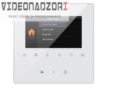 4.3'' TFT hands-free monitor za V-TEK DT sustave. Tanko kućište bijele boje, tipke osjetljive na dodir od  za 1.123,75kn