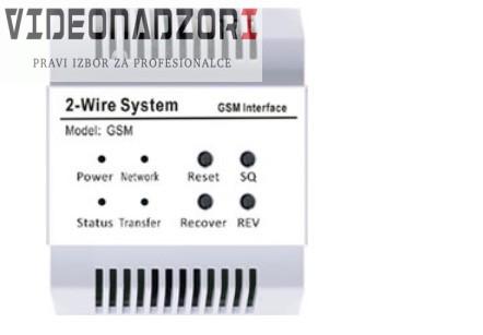 GSM modul za V-TEK DT sustave za preusmjeravanje poziva sa monitora na telefon. od  za samo 873,75kn