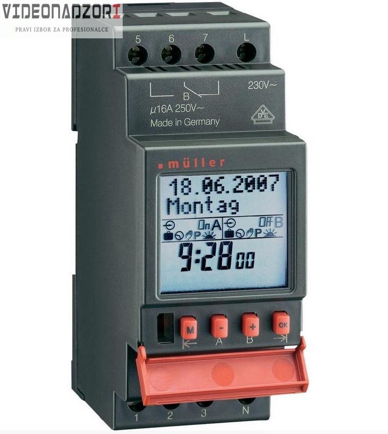 Uklopni sat Müller SC pro 12 V/DC, 12 V/AC 16 A/250 V od 876,25kn