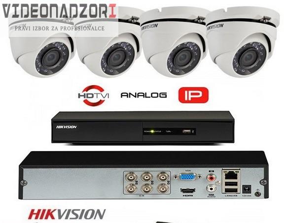 Komplet 4 FULL HD kamere 1080p Bullet Pro snimač prodavac VideoNadzori Hrvatska  za 4.500,00kn