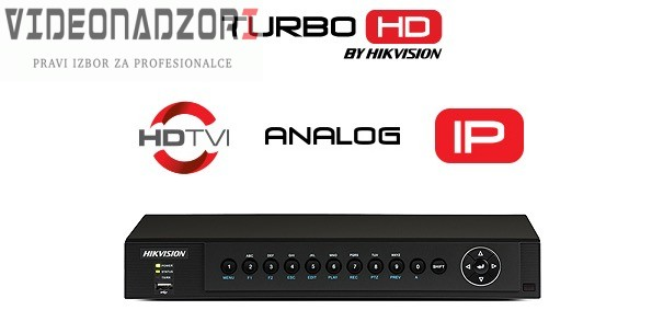 TURBO HD video snimač Hikvision DS-7208HQHI (8 kanala ili 12IP, ANALOGNI/HD-TVI/CVI/AHD, H.265 Pro+, HDMI, VGA) od  za 2.437,50kn