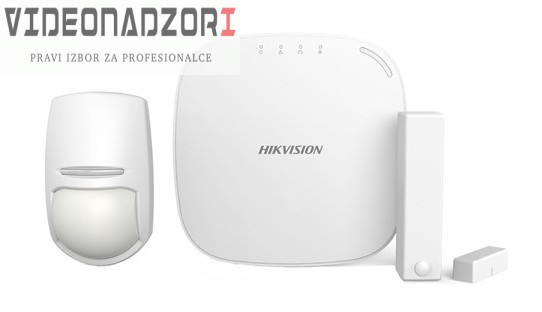 HIKVISION BEŽIČNI ALARMNI KOMPLET (WIFI + LAN) od HikVision prodavac VideoNadzori Hrvatska  za samo 2.373,75kn