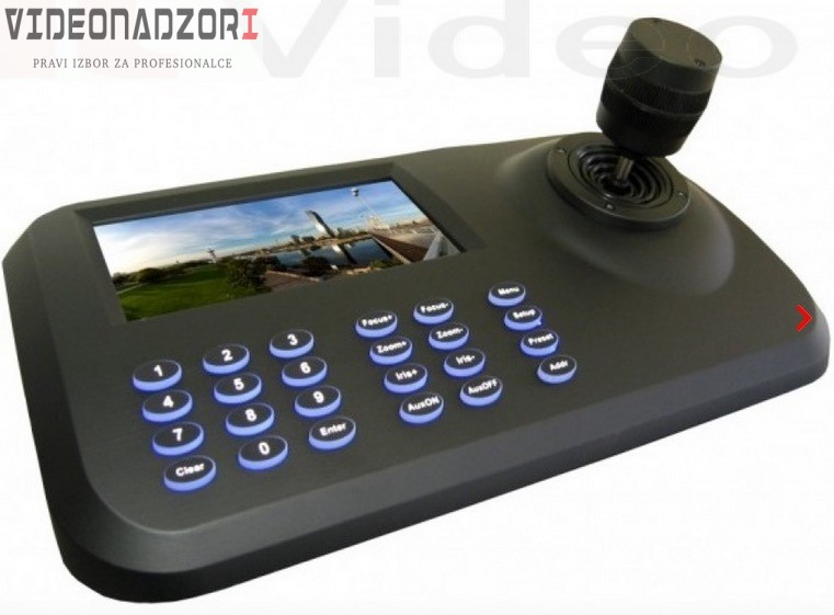 PTZ IP CroCam Tipkovnica Kontroler ONVIF2.4 prodavac VideoNadzori Hrvatska  za 2.108,75kn