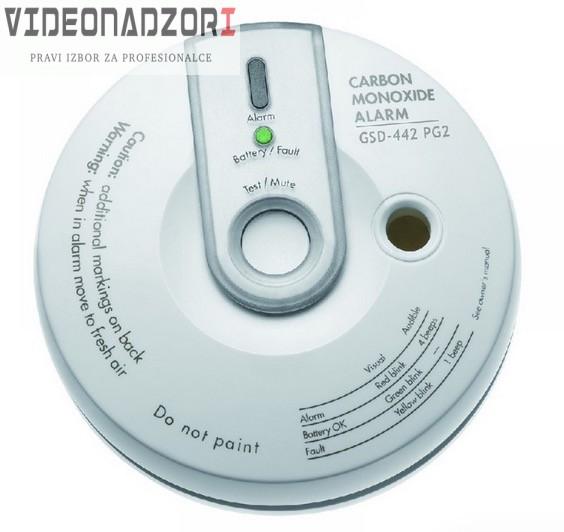 Visonic bežični detektor ugljičnog monoksida VIS GSD-442 PG2 - 868 MHz od  za samo 1.373,75kn