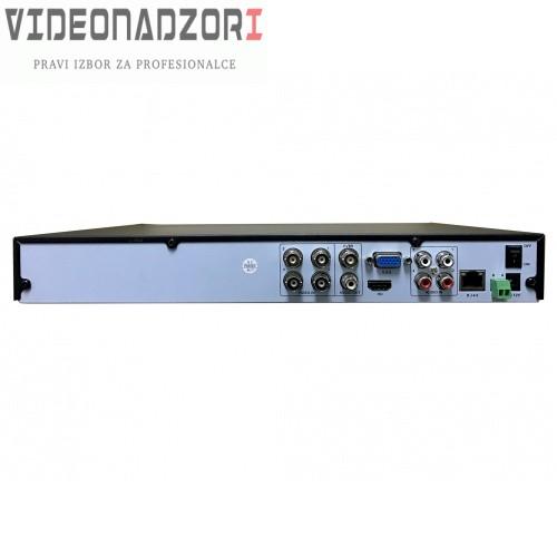 Pro 5u1 XVR video snimac CroCam (HD, podržava: IP, AHD, HD-CVI, HDTVI, CVBS kamere, 1080p, p2p) prodavac VideoNadzori Hrvatska  za 1.623,75kn