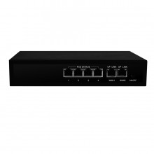 POE SWITCH 4-PORT + 2UP WAN + extend opcija 200m