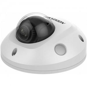 Dome IP Kamera Hikvision DS-2CD2563G0-ISW (6MP, 2,8mm, 0.01 lx, IK10, IR do 30m, AUDIO, ALARM, micSD)