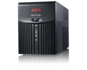 UPS AEG Protect Alpha 1200VA/600W, Line-Interactive, AVR, Data line protection
