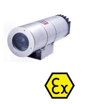 """ATEX certificirana nehrđajuća motozoom TEMP Ex kamera ITEX600PWK20 SONY1/3""""CMOS Senor (2.8-12mm, 20x, 2Mpx, temp: -45°C-+100°C)"""
