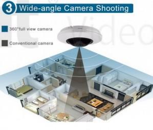 IP kamera S600 (H.265/H264 ,IR 20m, 1.05mm=360*, 5Mpx, P2P, POE) + CVBS