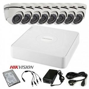 TURBOHD Komplet video nadzor 8 FULL HD kamere (Dome 20m, 1080p)