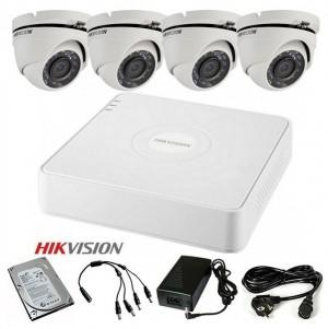 Komplet 4 HD kamere 720p Bullet ili Dome