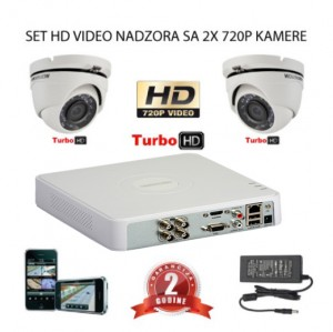 HD video nadzor 2 kamere Dome ili Bullet (Default)